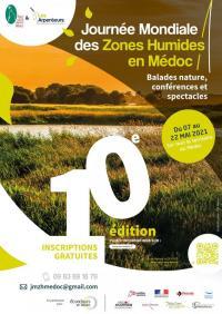 Evenement Saint Sorlin de Conac Journée Mondiale des Zones Humides : regard croisé sur l'Estuaire