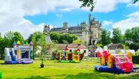 Evenement Saint Pierre Aigle Jeux gonflables au pied du château