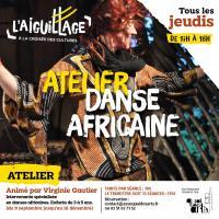 Evenement Les Riceys Atelier initiation à la danse africaine à l'Aiguillage