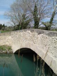Idée de Sortie Sénas Pont du Bosquet dit romain