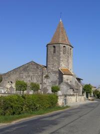 Idée de Sortie Moulin Neuf Eglise Saint-Hilaire de Puynormand