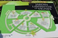 Idée de Sortie Brinay Jardins Labyrinthe de Vignes
