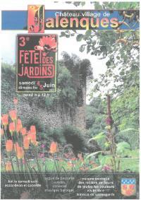 Evenement Lédergues Rendez-vous au jardin du château de Jalenques