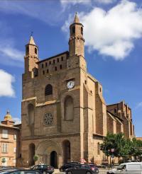 Idée de Sortie Rabastens Église Notre-Dame du Bourg
