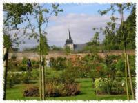 Parc et Roseraie du Chateau de Rambures Somme