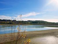 Idée de Sortie Sainte Sabine Born Lac de la Ganne - Pêche et randonnée pédestre.