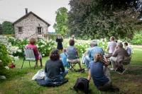 Idée de Sortie Bugeat Visite-lecture aux Jardins de Mas Maury