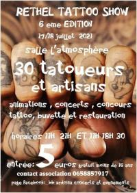 Evenement La Neuville en Tourne à Fuy Rethel Tattoo Show