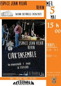 Evenement Auvillers les Forges Cirk'ensemble