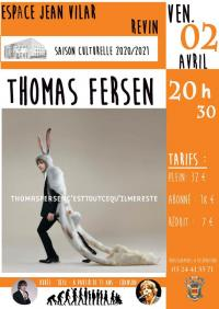 Evenement Renwez Thomas Fersen