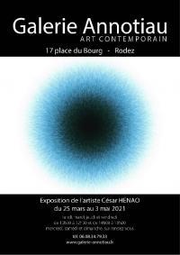 Evenement Bozouls Exposition de César HENAO à la Galerie ANNOTIAU