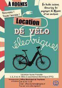 Idée de Sortie Rognes Location de Vélo à Assistance Electrique (VAE)