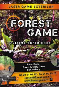 Idée de Sortie Onjon FOREST GAME: LASERGAME EXTERIEUR