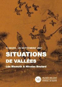 Evenement Tours Exposition SITUATIONS DE VALLÉES - Léa Bismuth et Nicolas Boulard