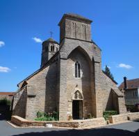 Idée de Sortie Pont de Vaux Eglise Saint-Albain