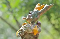 Evenement Gard Perchés.! Exposition de sculptures en céramique au Jardin des Sambucs