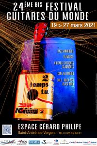 Evenement Assenay 24ème Festival Guitares du Monde