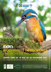 Evenement Marseille Exposition : Biodiversité de Provence - Une richesse insoupçonnée
