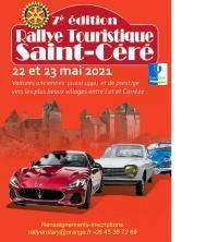 Evenement Mercoeur Rallye Touristique de Saint-Céré : 7 ème Edition