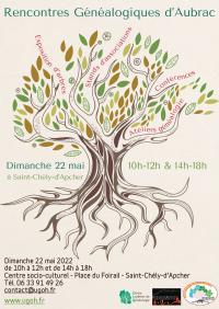 Evenement Saint Rémy de Chaudes Aigues RENCONTRES GÉNÉALOGIQUES D'AUBRAC