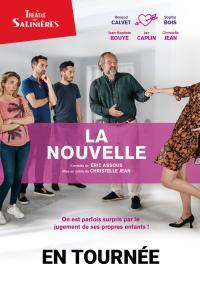 Evenement Montlieu la Garde Théâtre au Vox : La nouvelle