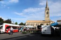Marché, un Vide Grenier ou une Brocante Gaillan en Médoc Marché dominical - Saint Ciers sur Gironde