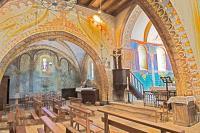 Idée de Sortie Groléjac Fresques de l'Église St Georges à St Cirq Madelon