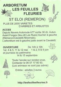 Idée de Sortie Nièvre Arboretum Les Feuilles Fleuries
