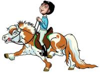 Evenement Bertholène Balade à poney à main avec Clem'horse