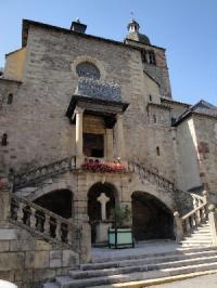Idée de Sortie Sainte Eulalie d'Olt Église paroissiale de St Geniez d'Olt