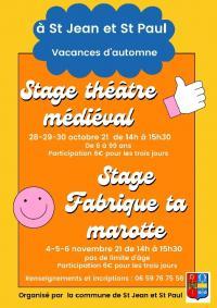 Stage-enfants Saint Jean et Saint Paul