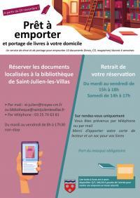 Idée de Sortie Saint Julien les Villas Bibliothèque Municipale Saint-Julien-les-Villas
