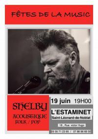 Evenement Limoges Concert SHELBY à l'Estaminet