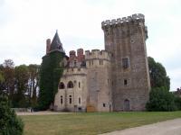 Chateau et jardins de Saint-Loup-Sur-Thouet Deux Sèvres