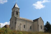 Idée de Sortie Champagne en Valromey Eglise de Saint Martin de Bavel