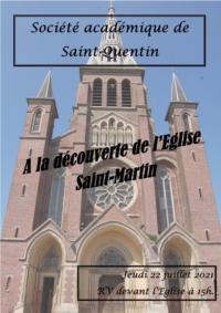 Idée de Sortie Gauchy Visite de l'église Saint-Martin