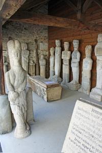 Idée de Sortie Affieux Exposition des sculptures d'Antoine PAUCARD