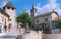 Idée de Sortie Le Trioulou Saint Santin : Le Village double