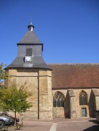 Idée de Sortie Nièvre Eglise de Saint-Saulge