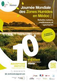 Evenement Saint Sorlin de Conac Journée Mondiale des Zones Humides : Saint-Seurin-de-Cadourne