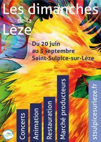 Evenement Saint Quirc LES DIMANCHES DE LA LÈZE