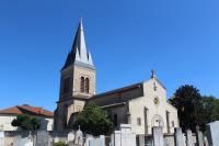 Idée de Sortie Chaneins Eglise de Saint-Trivier-sur-Moignans