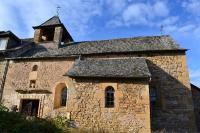 Idée de Sortie Sainte Eulalie d'Olt Église de Malescombes