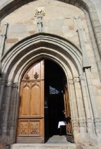 Idée de Sortie Curan Eglise collégiale de Salles-Curan
