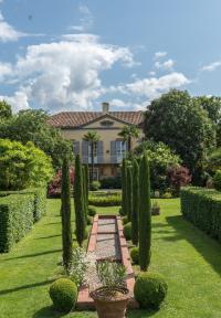 Chateau de Marrast et son jardin remarquable Landes