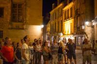 Idée de Sortie Saint André d'Allas Visite guidée nocturne de la cité médiévale de Sarlat