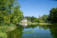 Jardin du Plessis Sasnières Les Roches l´évêque