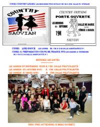 Evenement Vinassan ANNULE EN NOVEMBRE - BAL COUNTRY