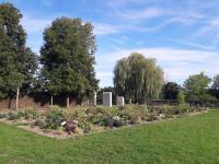 Jardin du Bastion de la Porte de Meaux Senlis