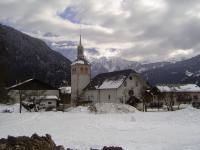 Idée de Sortie Servoz Eglise Saint-Loup de Servoz